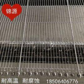 304不锈钢乙型网带回流焊一字网带巧克力涂层传送带