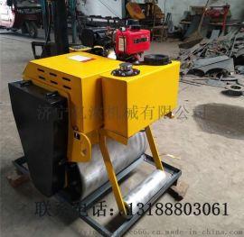 手扶式单轮小型压路机手扶小型柴油震动小钢轮压路机