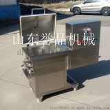 食品機械設備自動出料真空拌餡機-水餃肉餡攪拌機