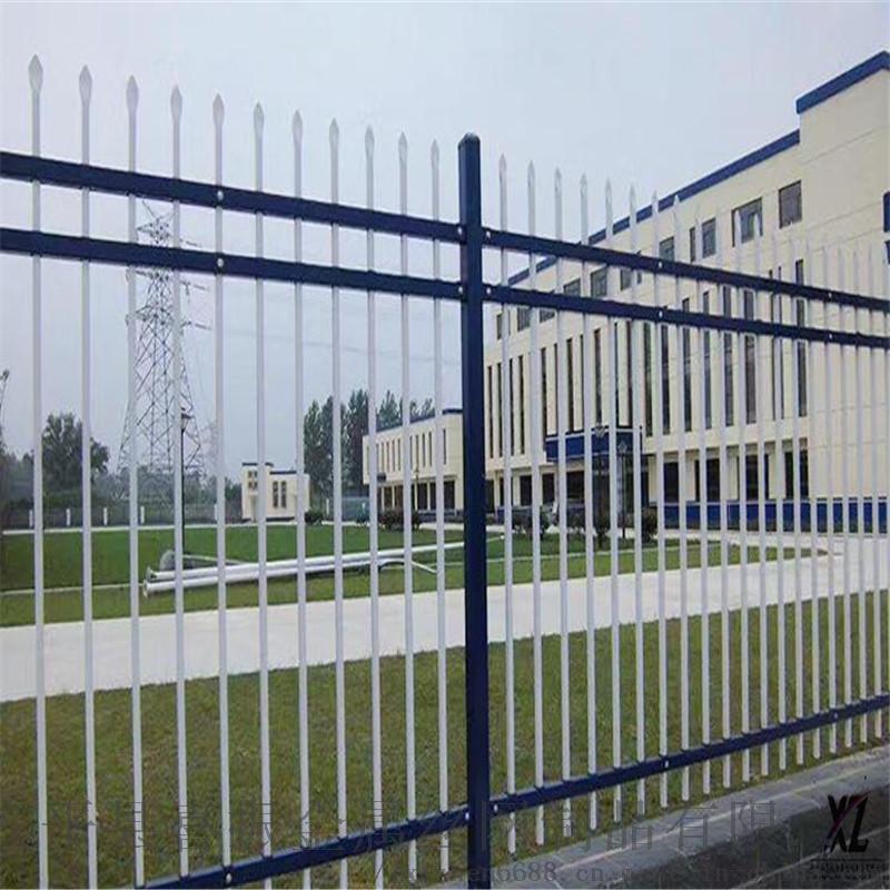 北京学校围墙护栏颜色锌钢护栏厂家服务周到