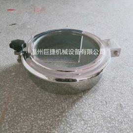 卫生级不锈钢常压一体式视镜人孔