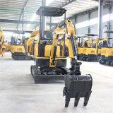 液壓先導17小型挖掘機 微型橡膠履帶小型挖掘機