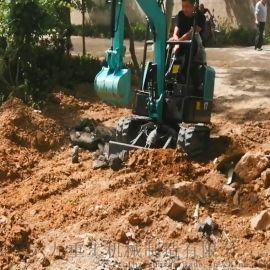 小型挖机抓木器 微小型挖土机价格 六九重工 开沟机