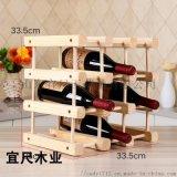 山東創意紅酒架子木質紅酒架 時尚歐式紅酒架