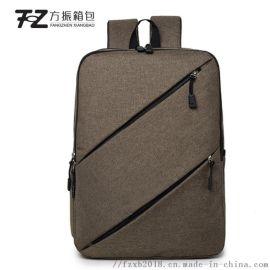 跨境商务背包可定制logo礼品电脑包双肩包旅行包