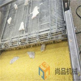 供应鲅鱼块上浆机 全自动鲅鱼块上浆上糠生产线