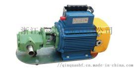 沁泉 WCB单相齿轮油泵WCB-30/50/75