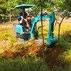 開溝培土機 溫室大棚翻土挖溝專用小挖機 六九重工l