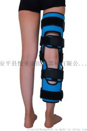 膝关节支具骨折支具代替石膏