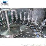 含氣飲料灌裝機三合一飲料生產線 果汁飲料白酒灌裝機