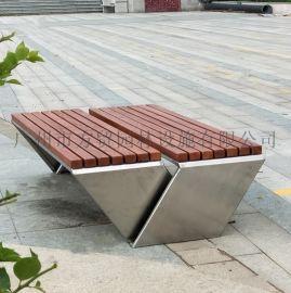 304不锈钢景观休闲座椅