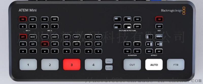 BMD ATEM Mini切換臺 四路HDMI輸入