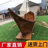 信陽木質商場船歐式海盜船復原