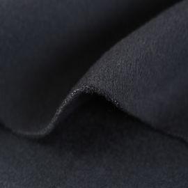 现代素色粗纺双面毛呢面料生产