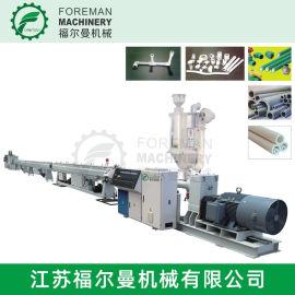 PVC塑料管材挤出生产线 塑料挤出机