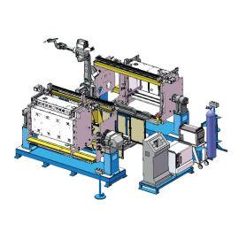 长高集团科陆泰开 侧板直装型充气柜机器人焊接系统