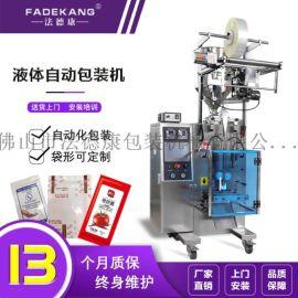 酱料包装机械 FDK-C60花生酱包装机 小袋装