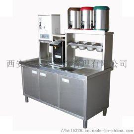 西安水吧奶茶操作台餐饮公司