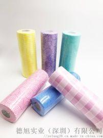抹布生产厂家 天然婴儿棉柔巾 一次性水刺无纺布
