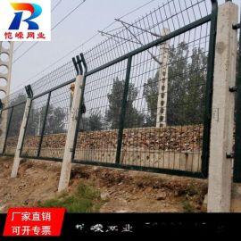 8001高速铁路桥下防护栅栏安装