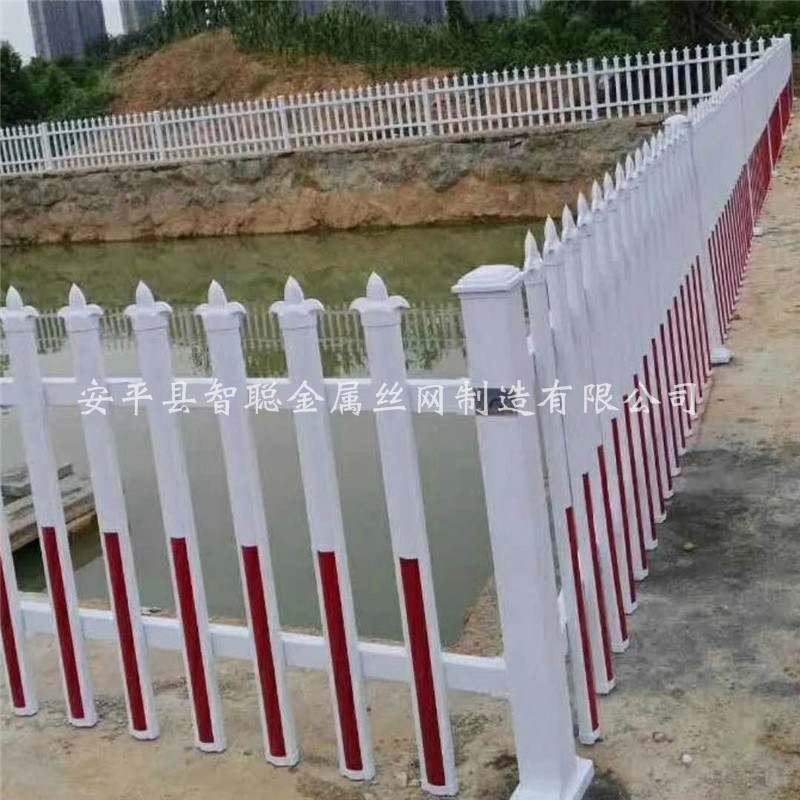 PVC塑鋼社區護欄 塑鋼庭院圍牆護欄