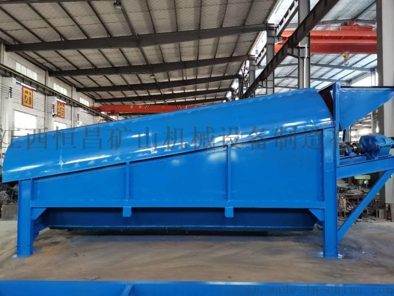 江西选矿筛分设备 振动筛沙机 时产量100吨滚筒筛