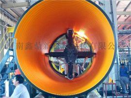 HDPE塑钢缠绕管 PE排水管 HDPE钢带波纹管