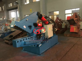 鳄鱼式废铜剪切机  废铁剪板机、(Q43-315)