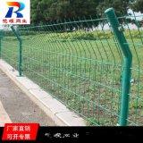 武漢公路雙邊絲護欄網 綠色雙邊絲護欄網