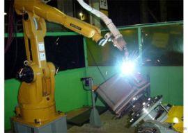 激光自动焊接机器人 多工位 多角度完成焊接