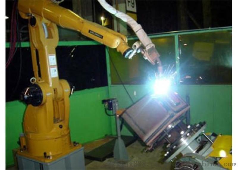 射自動焊接機器人 多工位 多角度完成焊接