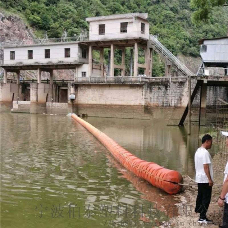 河道淤泥疏浚工程塑料浮筒浮体