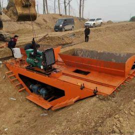 工程渠道成型机 多规格水渠成型机 自走式渠道成型机