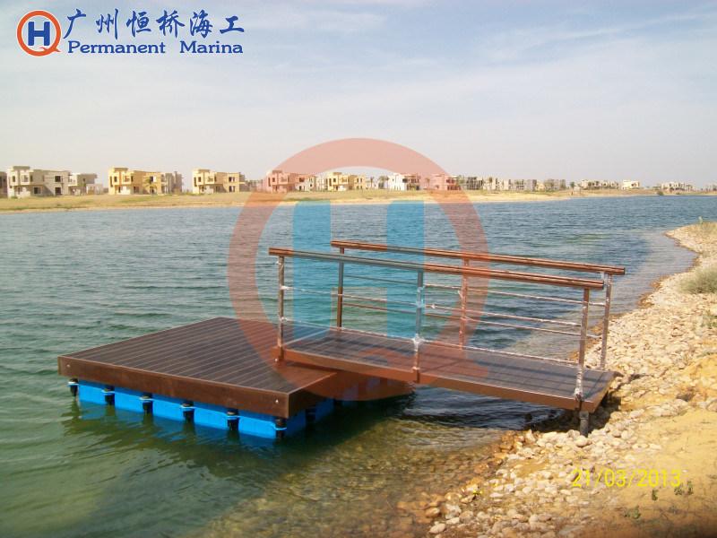 塑料浮筒轻便型亲水平台
