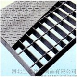 防滑复合钢格板应用于楼梯