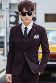 韩版西服批发中高端男装厂家长期现货供应