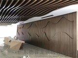 税务局波浪型长城板,内外墙体凹凸长城板