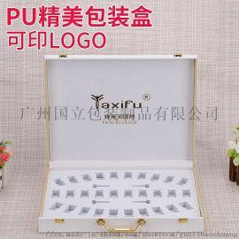 微雕套盒_化妆品皮盒_广州国立包装