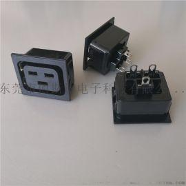 C19电源母座 BS-C19-3A电源母座