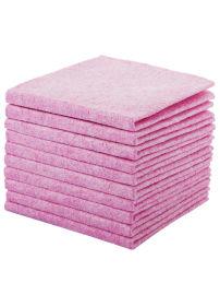 厂家**加厚双面双色珊瑚绒洗碗布
