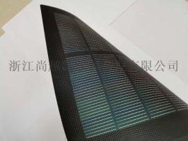 7W铜铟**硒CIGS柔性薄膜太阳能板组件充电包厂家直销