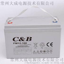 12V100AH阀控式铅酸胶体太阳能房车蓄电池
