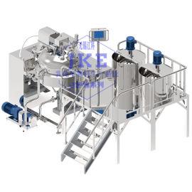 吐司面包沙拉酱乳化均质系统,沙拉酱乳化设备厂家