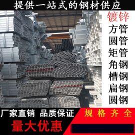 厂价直销方矩管Q235B镀锌方矩管钢结构用厂家直销