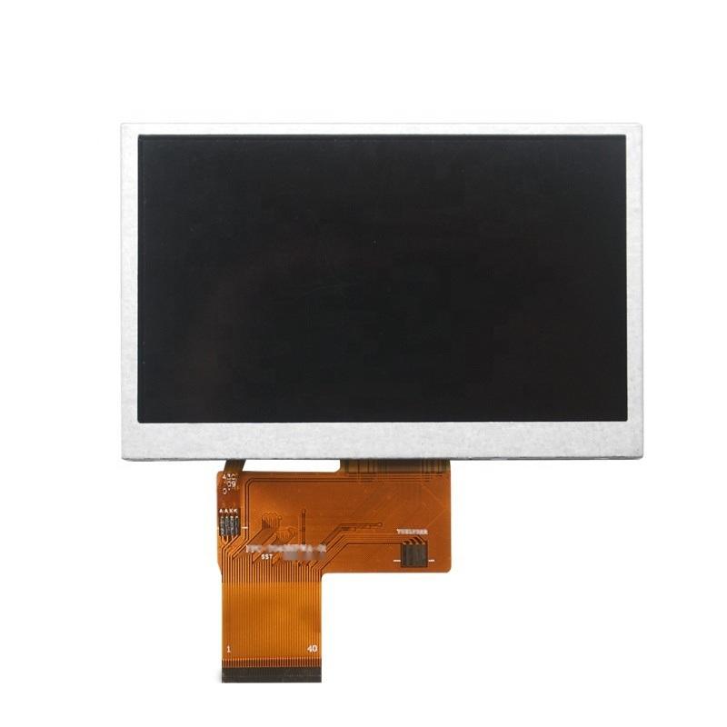 超寬溫4.3寸480*272 TFT 彩屏模組