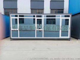 山东打包箱住人集装箱钢结构活动房厂家