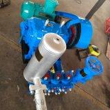 BW-250型泥浆泵为卧式三缸往复单作用活塞泵