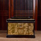 景德鎮土骨灰盒大號陶瓷棺材