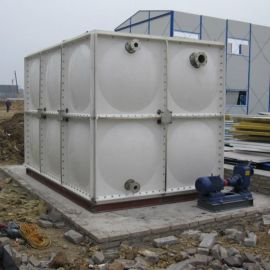 玻璃钢水箱储存一体化镀锌水箱