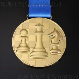 烤漆镂空奖牌 马拉松跑步奖章金银铜仿古越野比赛奖章